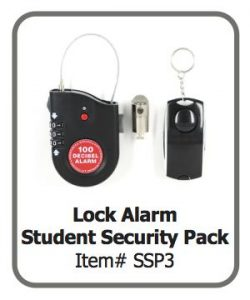 Lock Alarm Student Security Pack