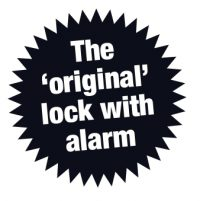 The original lock with alarm