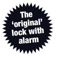 The original lock with alarm
