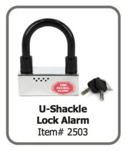 U Shackle Lock Alarm