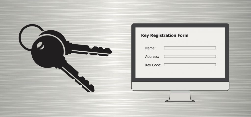 Key Registration