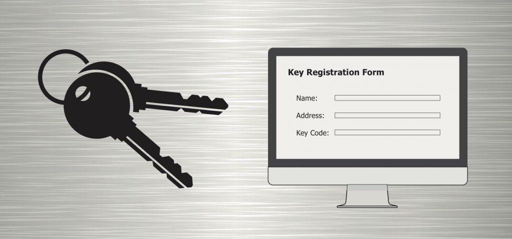 Key Registration